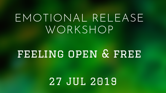 Feeling Open & Free  27 Jul 2019