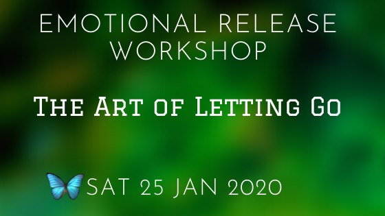 The Art of Letting Go 25 Jan 2020