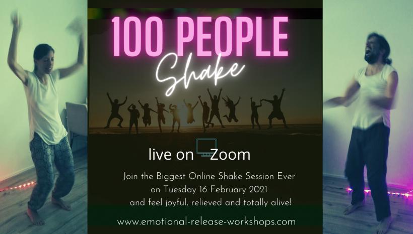 100 people Shake!